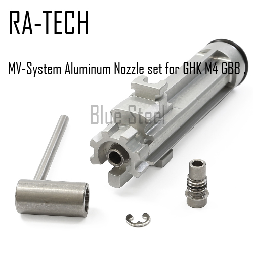 [RATech] MV-System Aluminum Nozzle set for GHK M4 GBB