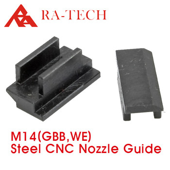 [RATech] CNC Steel nozzle guide (for we M14 gbb)