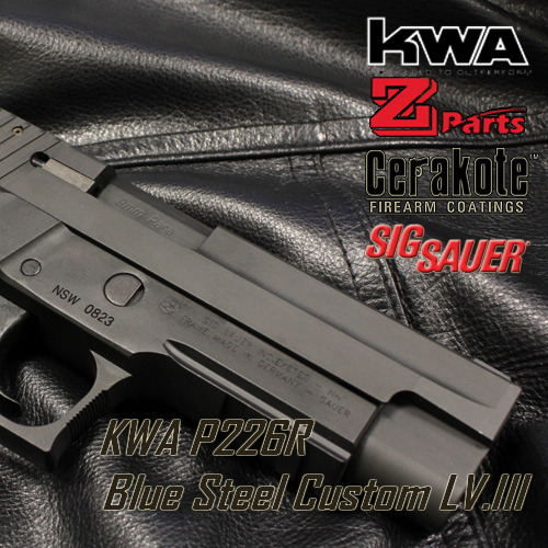 [BS] KWA P226 BlueSteel Custom LV.III