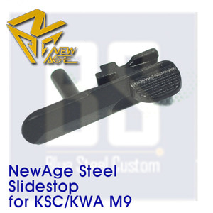 [Newage] STEEL Slide stop for KSC/KWA M9