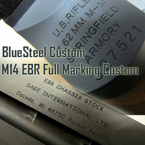 [BS] M14 EBR Full Marking Custom