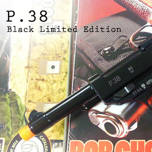 [WE] P38 GBB Black Edition(일반케이스)